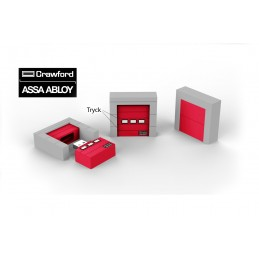 Gjutet USB-minne | ASSA ABLOY | Crawford Port