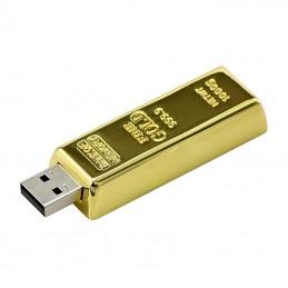 D180 USB-minne | Guldtacka