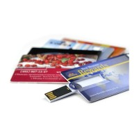 USB minne kreditkort med tryck